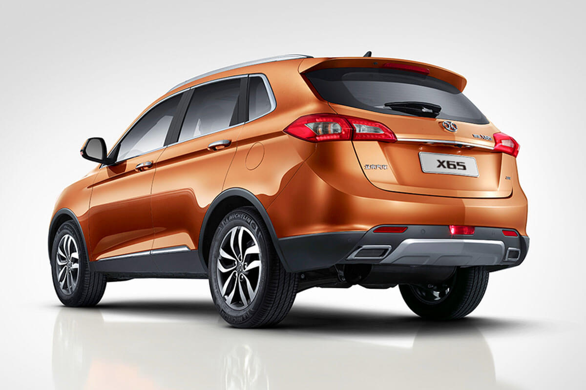 BAIC Senova X65  Kiefer Mobile